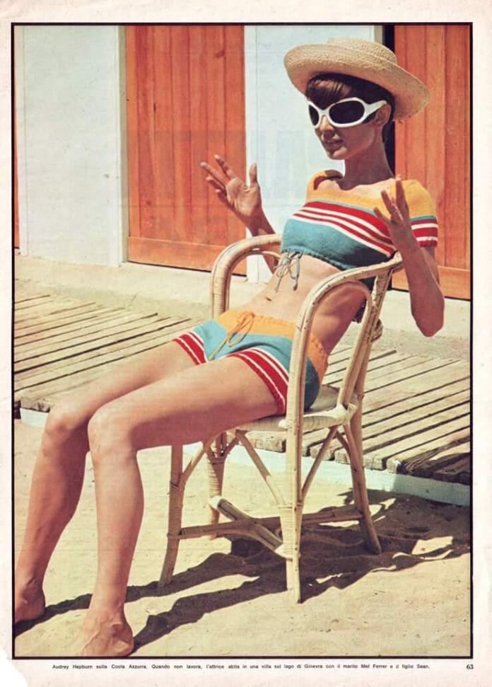 audrey hepburn bikini