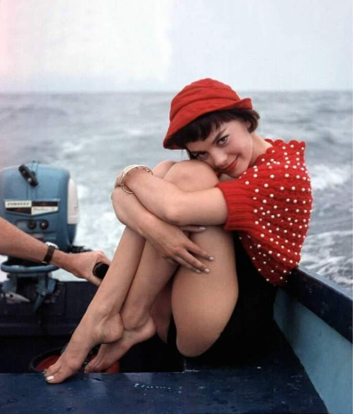natalie wood feet