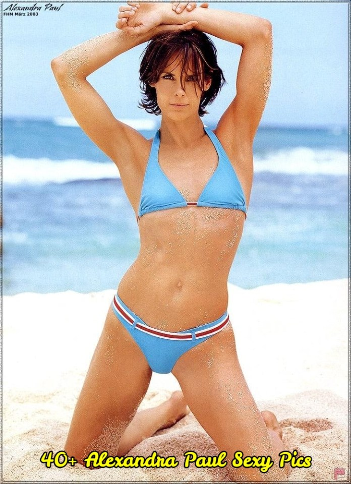Alexandra Paul sexy pictures