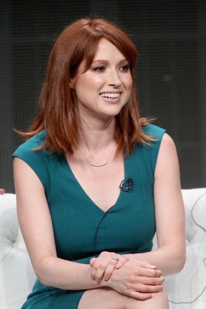 Ellie Kemper sexy look