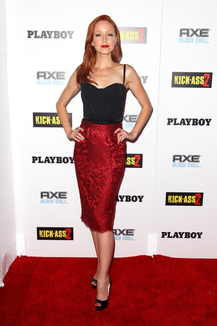 Lindy Booth sexy look