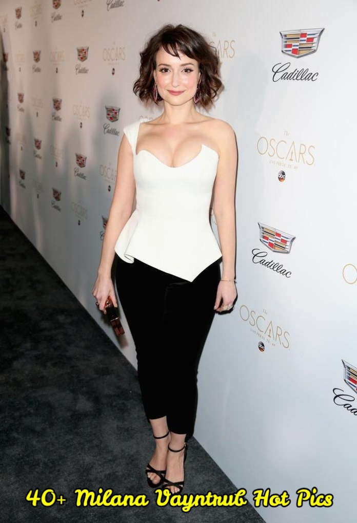 Milana Vayntrub hot pictures