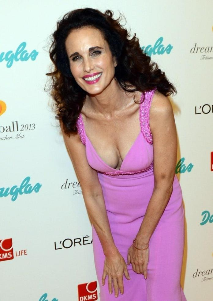 Andie MacDowell sexy pic
