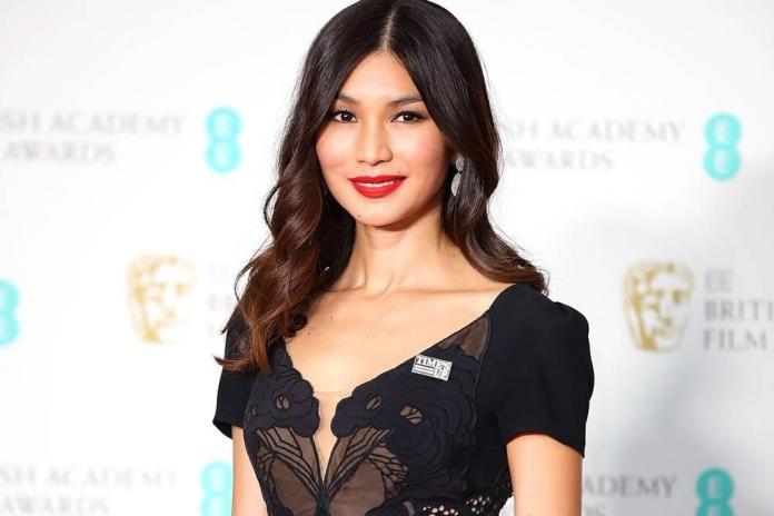 Gemma Chan sexy look