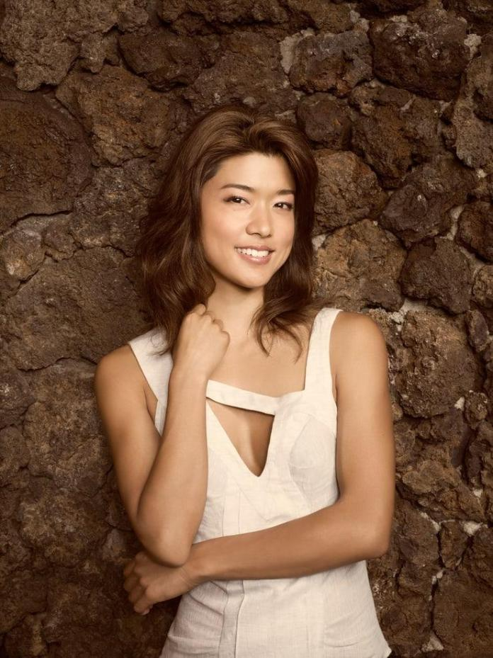 Grace Park hot look