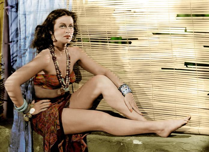 Hedy Lamarr sexy pic