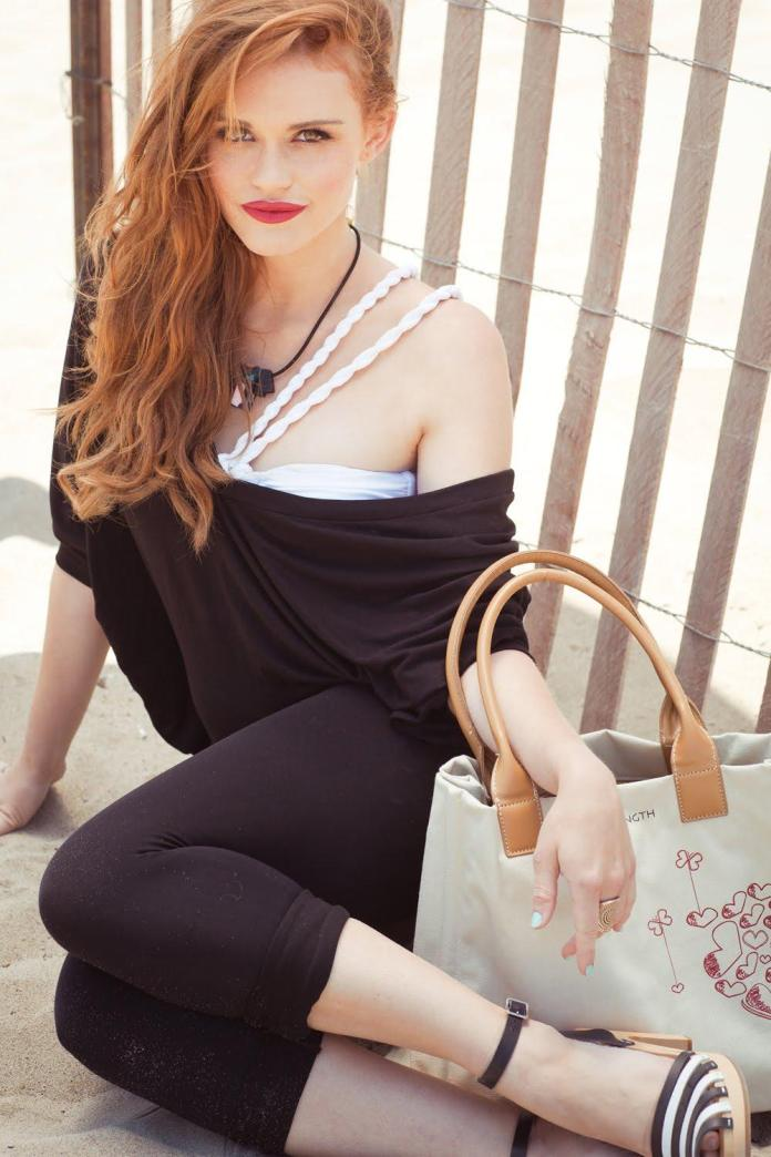 Holland Roden sexy look