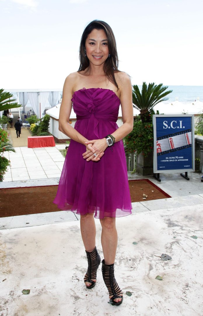Michelle Yeoh sexy look