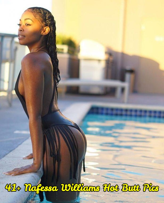 Nafessa Williams hot butt pics