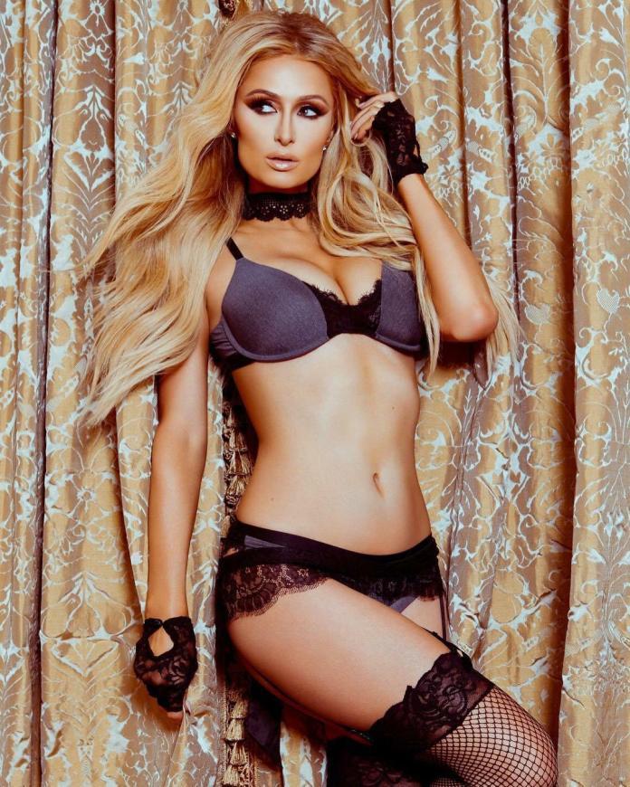 Paris Hilton sexy look