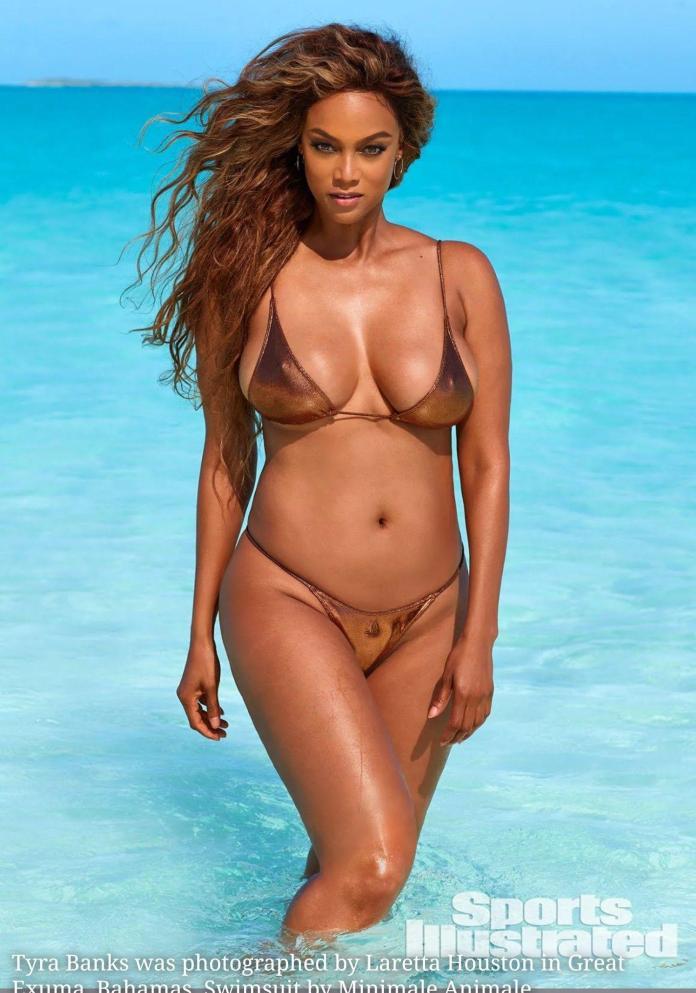 Tyra Banks hot look