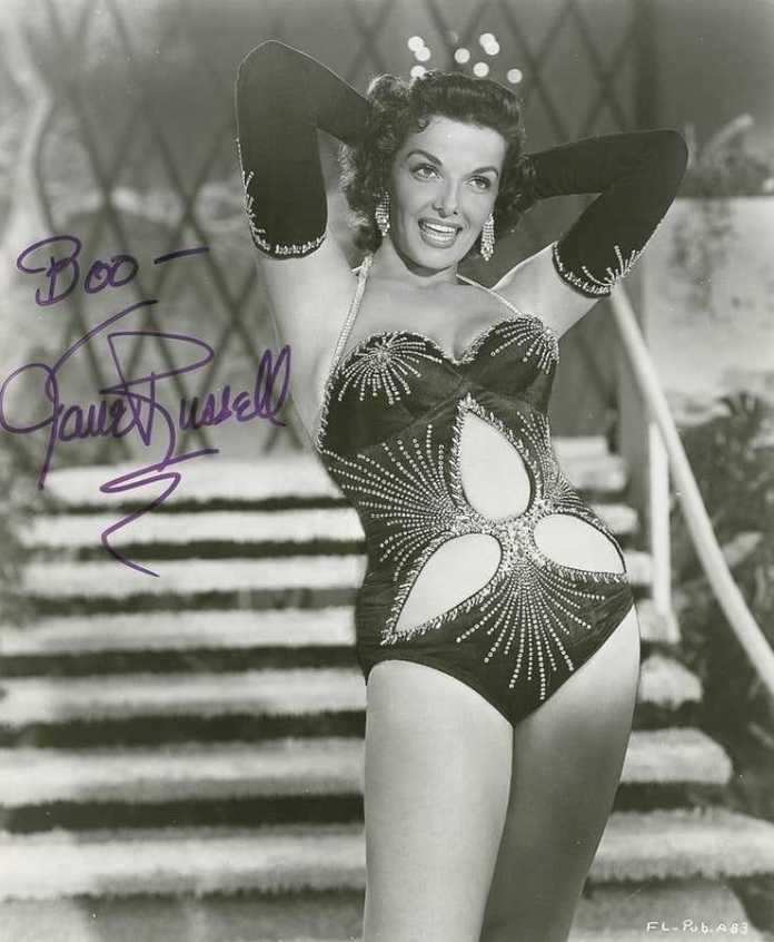 jane russell hot photo