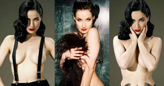 41 Hottest Pictures Of Dita Von Teese