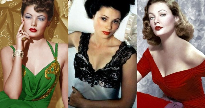 41 Sexiest Pictures Of Gene Tierney