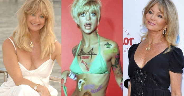 41 Sexiest Pictures Of Goldie Hawn