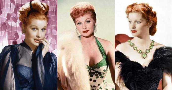 41 Sexiest Pictures Of Lucille Ball
