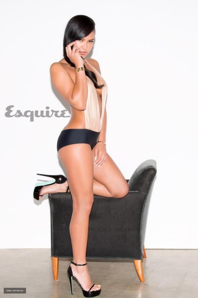 Cassie Ventura hot look