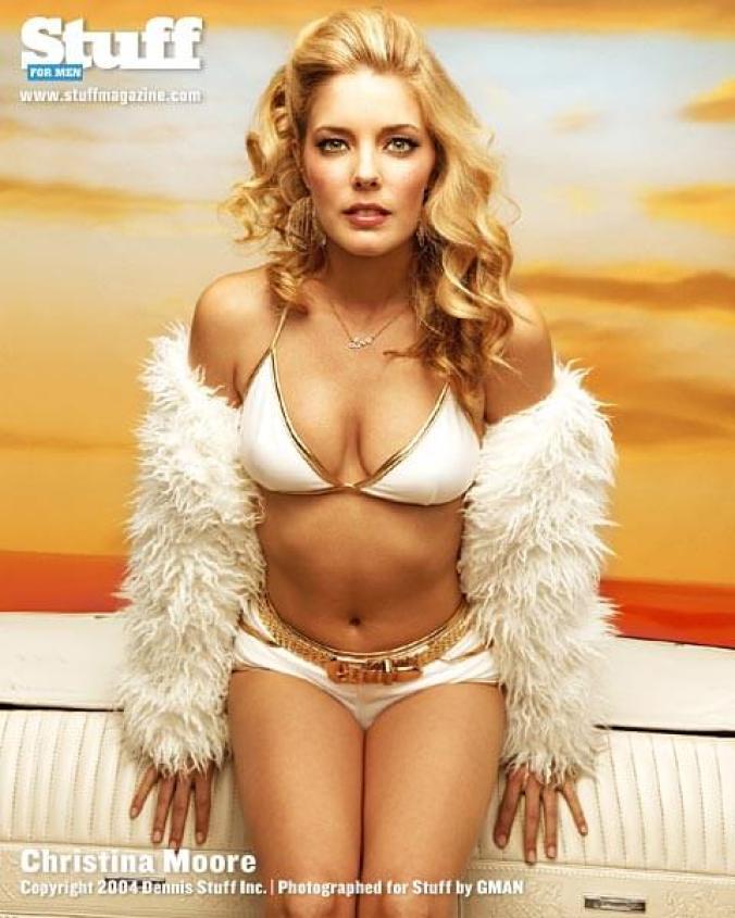 Christina Moore bikini pics