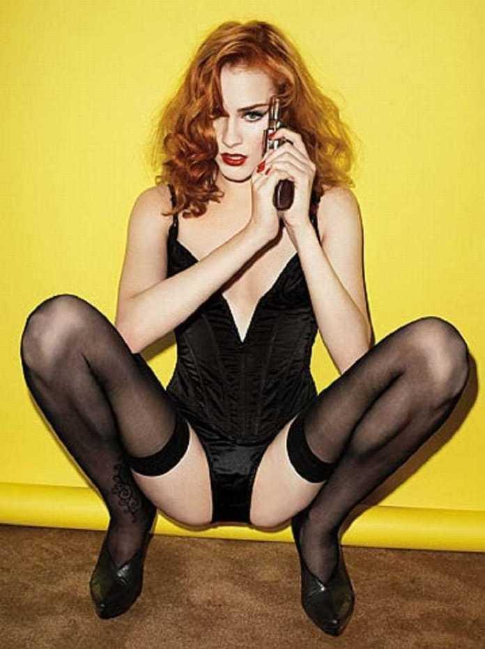 Evan Rachel Wood hot look pics
