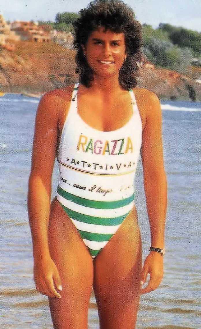 Gabriela Sabatini lingerie pictures