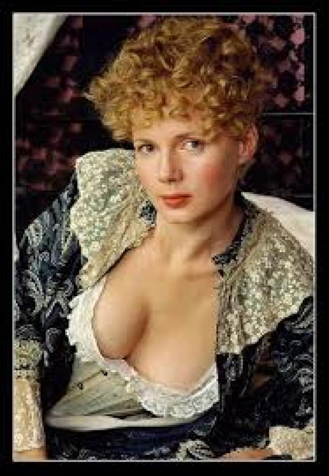 Louise Germaine sexy cleavage pics