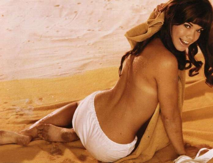 Barbi Benton sexy look