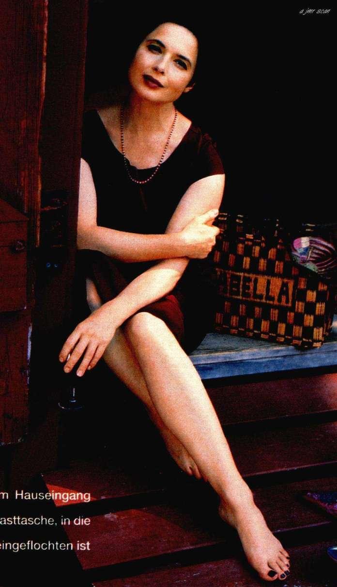 Isabella Rossellini hot look