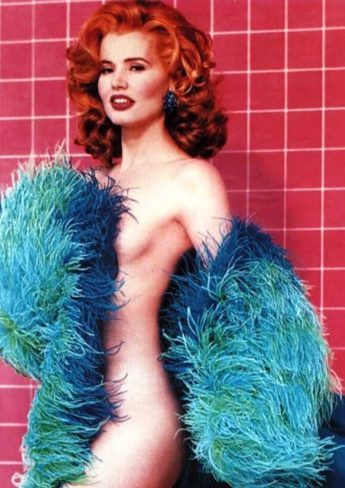 Geena Davis near nude pics