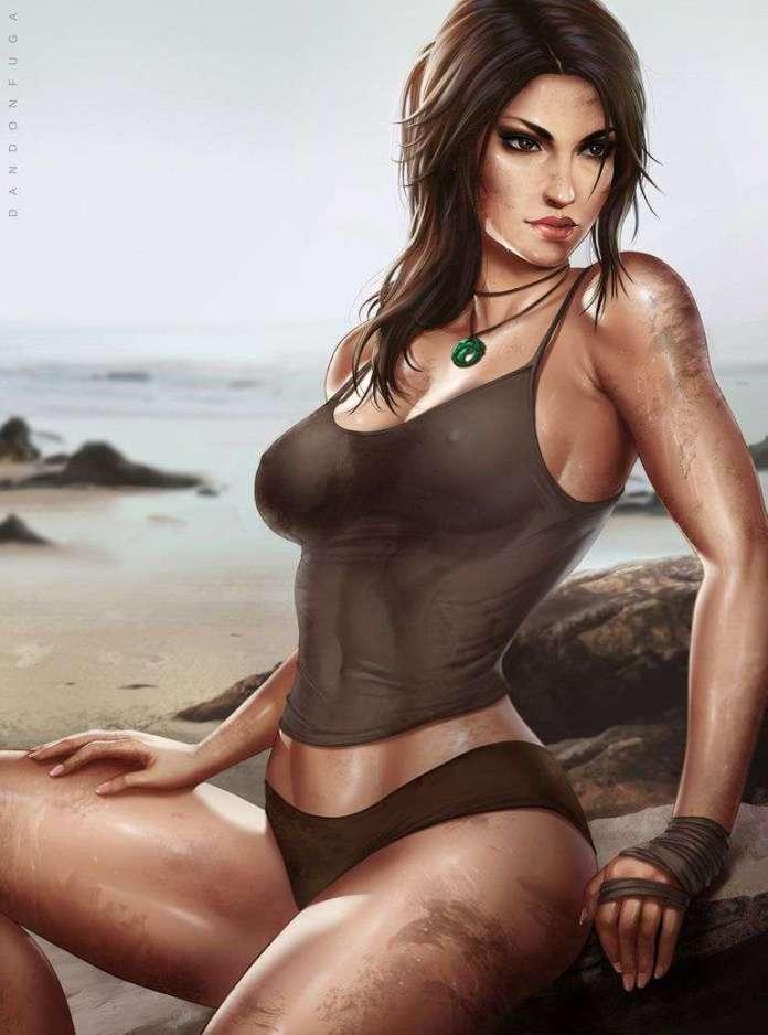Lara Croft sexy pics