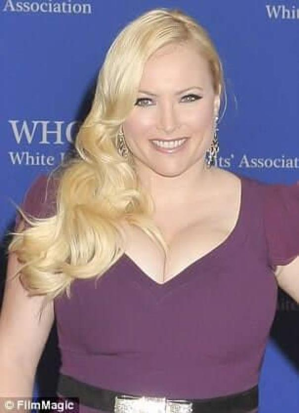 Meghan McCain cleavage pictures