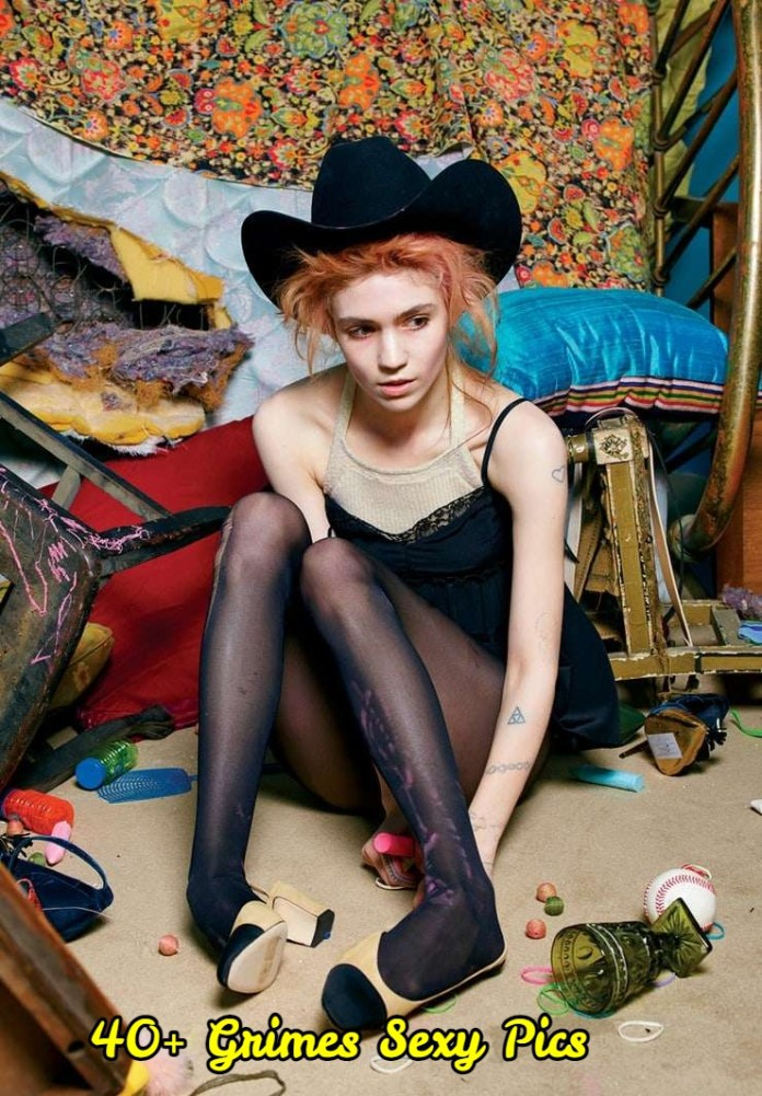 Grimes sexy pictures