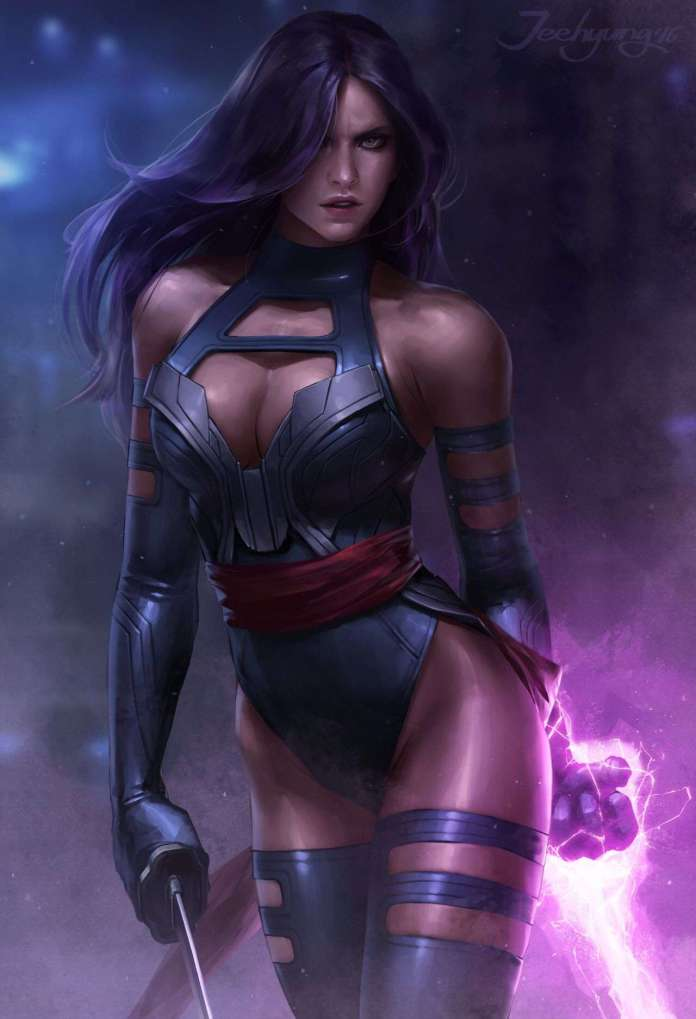 Psylocke sexy pics