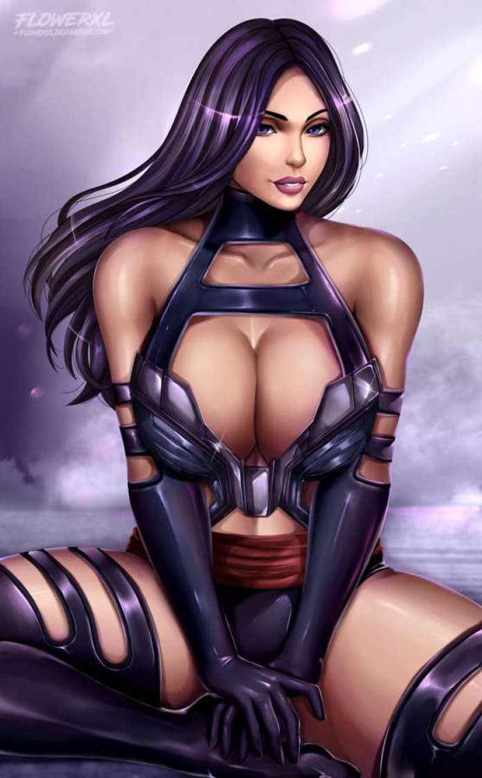 Psylocke sexy