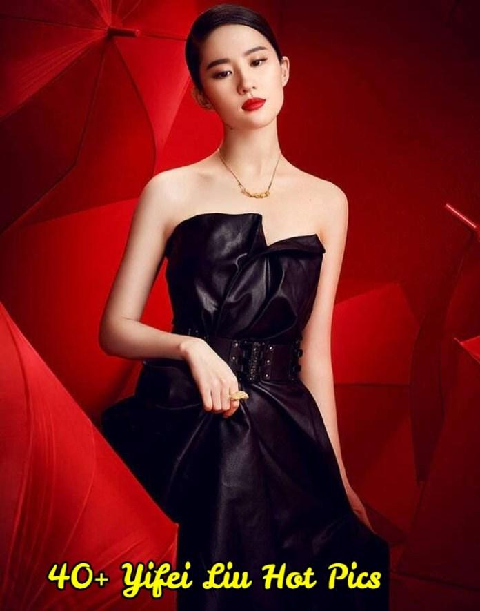 Yifei Liu hot pictures