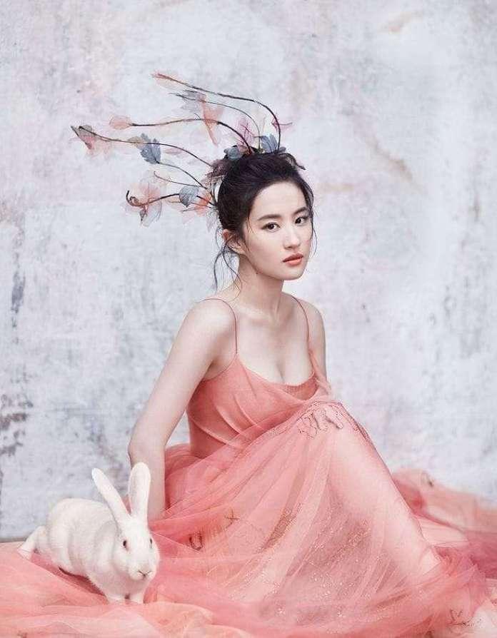Yifei Liu sexy pic