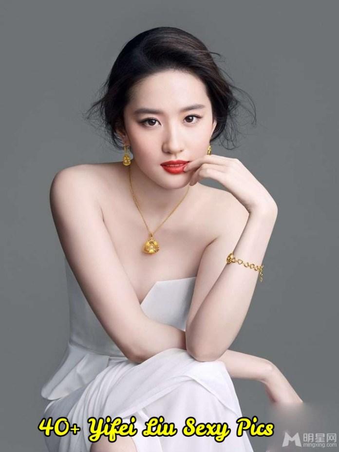 Yifei Liu sexy pictures