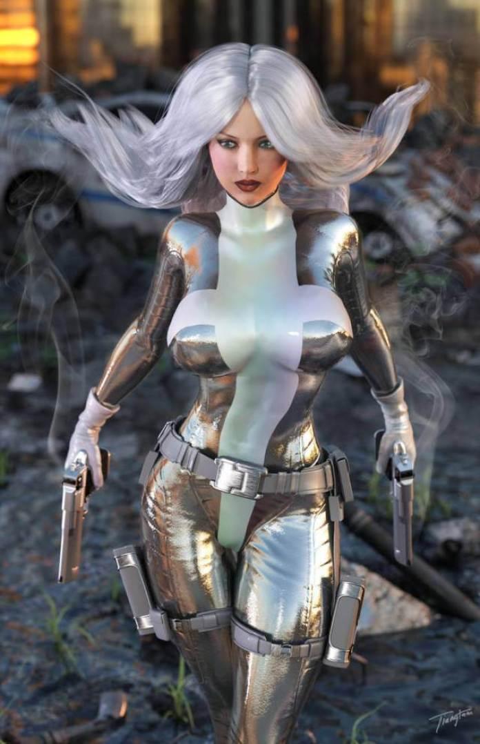 Silver Sable boobs pics
