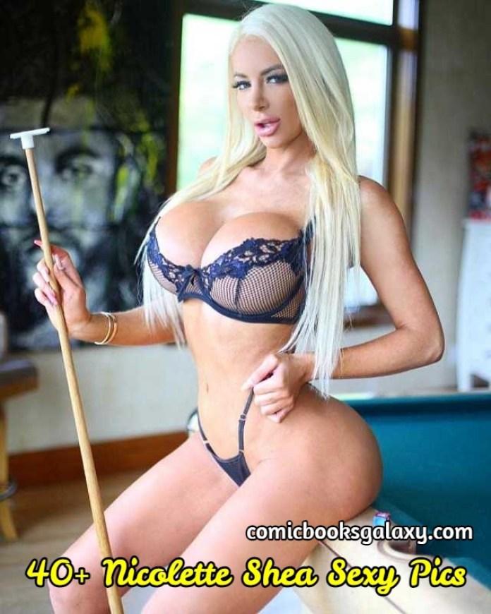 Nicolette Shea Sexy Pics