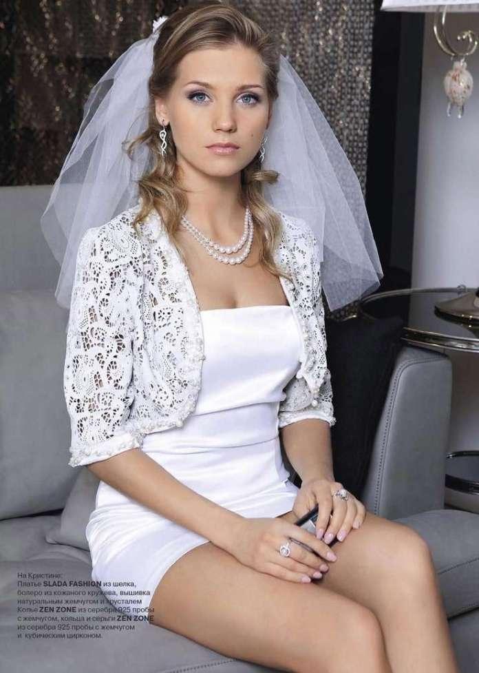 Kristina Asmus sexy look