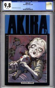 Akira #7 CGC 9.8