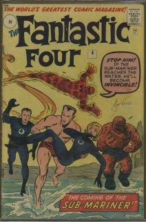 Fantastic Four #4 UK edition