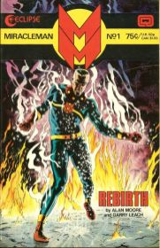 Miracleman #1 Uk edition 1