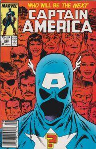 Captain America #333