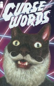 Curse Words #1 Glitter Cat