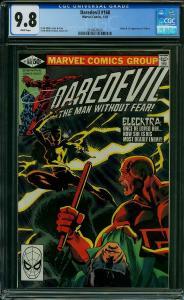 Daredevil #168 CGC 9.8