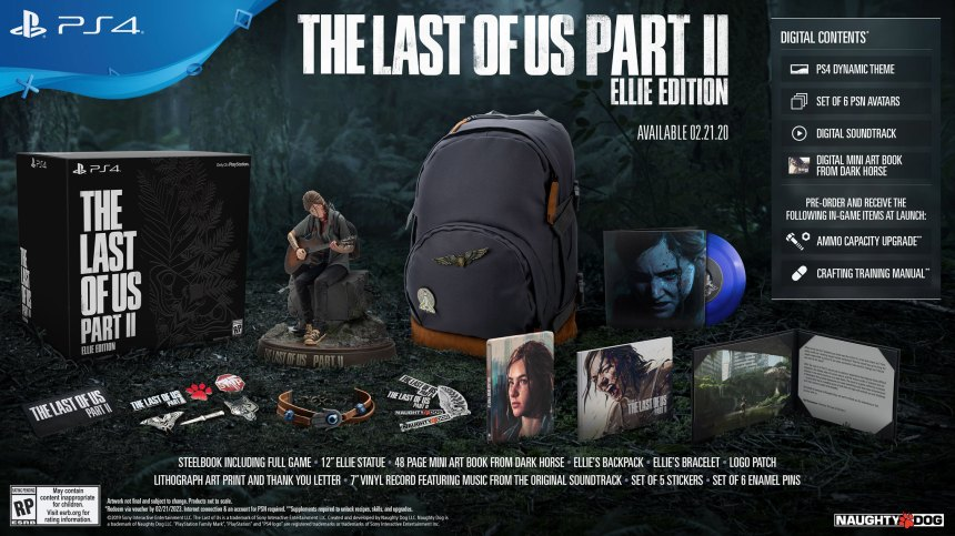 Last of Us Collectors Edition