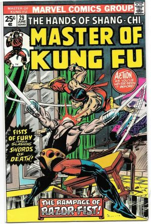 Masters of Kung Fu #29