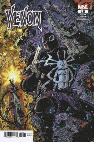 Venom #19 Tony Moore 1-25 variant