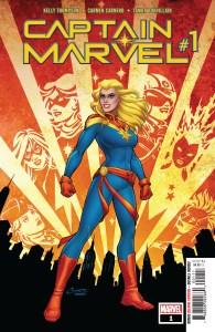 Captain Marvel #1 2018