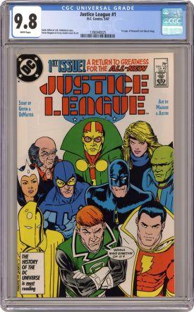justice league 1 1987